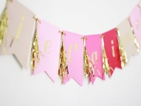 Gold + Pink Party