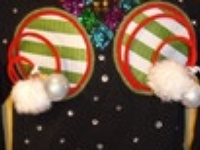 Tacky Christmas sweater closet