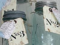 Glass Jars, Bottles & Cloches