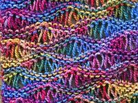 Things I want to able to knit one day. Alas, my skills are not there yet. Can barely knit & purl but I will learn cables and double knitting.