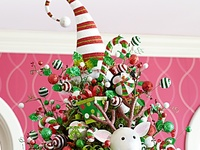 Whimsical Christmas Trees and Decorations