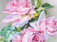 I love-love-LOVE vintage illustrations of flowers.