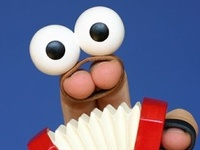 Puppet characters that we love.