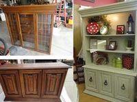 Furniture-HUTCH, Vintage Re-Do