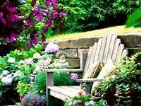 Gardens I love and dream about.  Things to try in my garden.