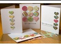 cards and stuff related to paper crafting