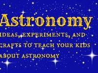 astronomy experiments and ideas for kids