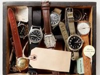 Mostly mens watches, tons of vintage pieces, and NATO straps.
