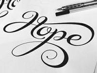 Lettering ♡