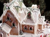 Can't help but attempt a gingerbread house every year.  Some success, some disasters, but always fun.