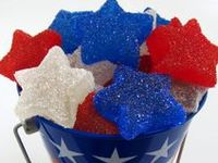 Treats, decorations, and other good ideas for 4th of July parties or get-togethers.