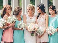 Mint & Peach Wedding
