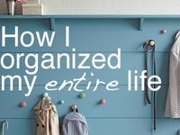 get clean & organized