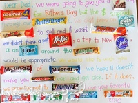 Candy Bar Posters for all occasions: Birthday, Anniversary, Valentine's