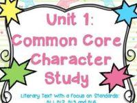Trina's Common Core Character Board