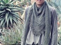 Knit Crochet Patterns Shawls Scarves Cowls