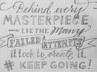 Lettering Ideas and Techniques