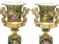 """works in porcelain, china, and ceramic """"Porcelain brings with it a curse~ once you acquire one or two pieces you will never be able to acquire enough to be satisfied."""" ~ Augustus II of Poland (the king behind Meissen porcelain)"""