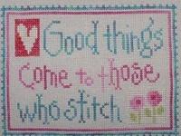 Cross Stitch/Needlework: Sewing