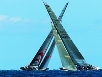 Joy to see wind on the water.  16+ years affiliated with Maxi Yacht Racing: Maxi Yacht Boomerang World Champion.