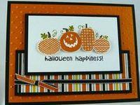 stampin up Halloween ideas
