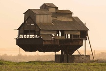 Tree House-Floating Architecture / I'm glad you are enjoying this board. Please limit your visit to 50 pins a day. Thank you. / by Karen Heverley