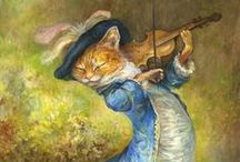 Artsy Cats / The art of cats / by Caroline Lawson