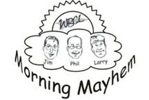 Morning Mayhem / Morning Show's Monthly Comic Strip / by WBCL Radio
