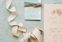 Stationery / wedding stationery inspiration and ideas / by Elizabeth Anne Designs