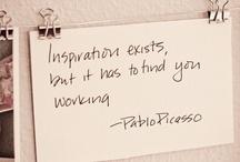 Inspiration / by Melanie Whiteley