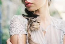 Brides / wedding day bridal hair and makeup inspiration / by Elizabeth Anne Designs