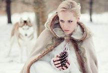 ~ Warm * Winter * Wishes ~ / Listen...and you will here the snow fall / by x bow