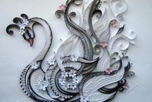 Quilling Paper Filigree Craft Art Ideas How To / Amazing ideas for paper quilling.  Stunning pictures, ideas, tutorials, and more. / by Chyina Finlay