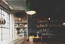 Cafés & Bistros / cafés & bistros from around the world  / by Sandra Hale