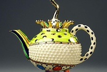 Teapots, Teacups, Tea Balls and Strainers / by Patty Morris