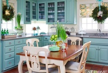 Kitchen / Kitchen redo - if I only could, I'd use some of these ideas. / by Tracy Johnson