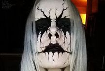 Fantasy Hair/Makeup/Masks / Inspirations for my work in Wig, Makeup, and Costumeland / by Megan Hawkins