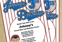 Baseball Birthday Party / by Dizzy Design Studio