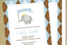 baby showers / by Dizzy Design Studio