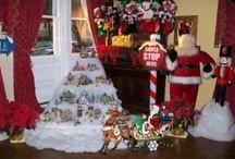 Christmas -- Village displays / christmas christmas christmas village village dept 56 dept 56 village displays display display / by Mariel Hale