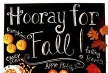Happy Fall Y-all!!! / fall decor fall decorations pumpkin display scarecrow  / by Mariel Hale
