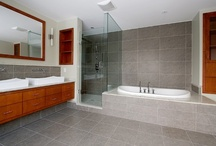 Bathrooms & Master Suites / Custom Make Up Table Vanities, Master Bathroom Vanity Ensuite's, Linen Closets and more completed in Forest Hill, Toronto, Ontario, Canada designed and built by Heritage Finishes / by Heritage Finishes