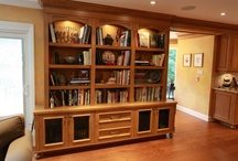 Libraries & Offices / Custom made entertainment cabinets, libraries and offices designed and built by Heritage Finishes / by Heritage Finishes