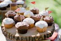 Yummy Wedding Treats! / Wedding cakes, cupcakes, cake pops and more! Sweets and treats for your wedding! / by Wedding Republic