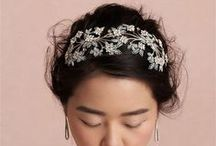 Hair & Accessories! / The perfect hair and accessories for weddings or somethin' fancy :) / by Wedding Republic