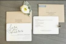 Wedding Invitations & Save The Dates / Please RSVP! The most inspired wedding invitations and save the date ideas ever! / by Wedding Republic
