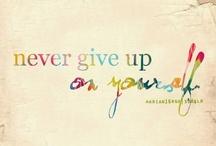 Advice, Inspiration & Motivation  / by Amber Kress
