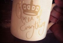Mugs / I don't even drink coffee but I've always had a love for mugs / by Amber Kress