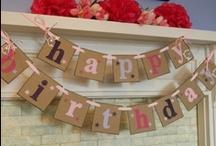 Birthdays / by Sadie Donaldson