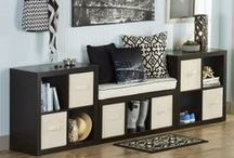 Stylish Storage For Less / Versatile, budget friendly Better Homes and Gardens cube organizers at Walmart / by BHG Live Better